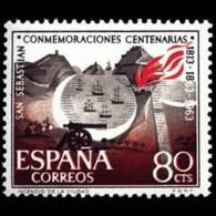 CENT.S.SABASTIAN - AÑO 1963 - Nº EDIFIL 1517 - 1931-Hoy: 2ª República - ... Juan Carlos I