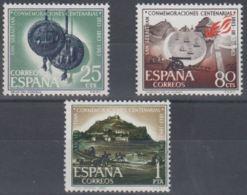 CENT.S.SABASTIAN - AÑO 1963 - Nº EDIFIL 1516-18 - 1931-Hoy: 2ª República - ... Juan Carlos I