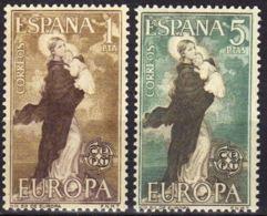 EUROPA - AÑO 1963 - Nº EDIFIL 1519-20 - 1931-Hoy: 2ª República - ... Juan Carlos I
