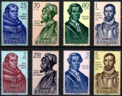 FORJADORES AMÉRICA - AÑO 1963 - Nº EDIFIL 1526-33 - 1931-Hoy: 2ª República - ... Juan Carlos I