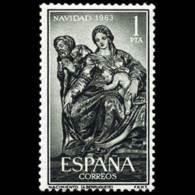 NAVIDAD - AÑO 1963 - Nº EDIFIL 1535 - 1931-Hoy: 2ª República - ... Juan Carlos I