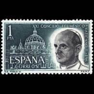 CONCILIO VATICANO - AÑO 1963 - Nº EDIFIL 1540 - 1931-Hoy: 2ª República - ... Juan Carlos I