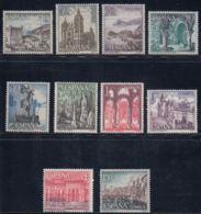 PAISAJES-MONUMENT - AÑO 1964 - Nº EDIFIL 1541-50 - 1931-Hoy: 2ª República - ... Juan Carlos I