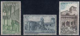 MON.STA.Mª.HUERTA - AÑO 1964 - Nº EDIFIL 1563-65 - 1931-Hoy: 2ª República - ... Juan Carlos I