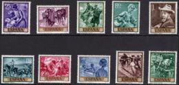 JOAQUIN SOROLLA - AÑO 1964 - Nº EDIFIL 1566-75 - 1931-Hoy: 2ª República - ... Juan Carlos I