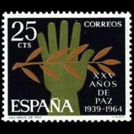 XXV AÑOS DE PAZ - AÑO 1964 - Nº EDIFIL 1576 - 1931-Hoy: 2ª República - ... Juan Carlos I