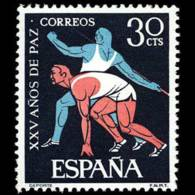 XXV AÑOS DE PAZ - AÑO 1964 - Nº EDIFIL 1577 - 1931-Hoy: 2ª República - ... Juan Carlos I