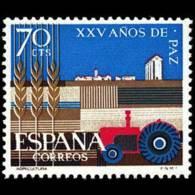 XXV AÑOS DE PAZ - AÑO 1964 - Nº EDIFIL 1580 - 1931-Hoy: 2ª República - ... Juan Carlos I