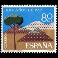 XXV AÑOS DE PAZ - AÑO 1964 - Nº EDIFIL 1581 - 1931-Hoy: 2ª República - ... Juan Carlos I
