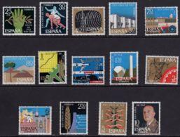 XXV AÑOS DE PAZ - AÑO 1964 - Nº EDIFIL 1576-89 - 1931-Hoy: 2ª República - ... Juan Carlos I