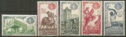 FERIA NUEVA YORK - AÑO 1964 - Nº EDIFIL 1590-94 - 1931-Hoy: 2ª República - ... Juan Carlos I