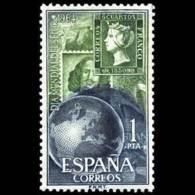 DIA MUNDIAL SELLO - AÑO 1964 - Nº EDIFIL 1596 - 1931-Hoy: 2ª República - ... Juan Carlos I