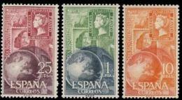 DIA MUNDIAL SELLO - AÑO 1964 - Nº EDIFIL 1595-97 - 1931-Hoy: 2ª República - ... Juan Carlos I