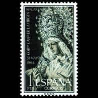 VIRGEN MACARENA - AÑO 1964 - Nº EDIFIL 1598 - 1931-Hoy: 2ª República - ... Juan Carlos I