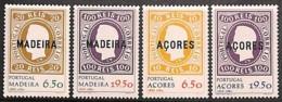 [811168]TB//**/Mnh-Portugal 1980 - Açores Et Madeire 1980 - 1ers Timbres Du Portugal, 2 SC , Timbres Sur Timbres - Francobolli Su Francobolli