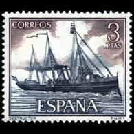 MARINA ESPAÑOLA - AÑO 1964 - Nº EDIFIL 1609 - 1931-Hoy: 2ª República - ... Juan Carlos I