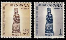 RECONQUISTA JEREZ - AÑO 1964 - Nº EDIFIL 1615-16 - 1931-Hoy: 2ª República - ... Juan Carlos I