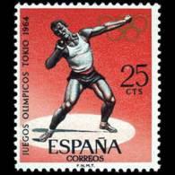JJ.OO. TOKIO - AÑO 1964 - Nº EDIFIL 1617 - 1931-Hoy: 2ª República - ... Juan Carlos I