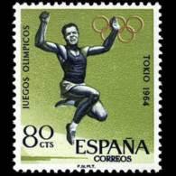 JJ.OO. TOKIO - AÑO 1964 - Nº EDIFIL 1618 - 1931-Hoy: 2ª República - ... Juan Carlos I