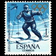 JJ.OO. TOKIO - AÑO 1964 - Nº EDIFIL 1619 - 1931-Hoy: 2ª República - ... Juan Carlos I