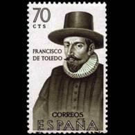 FORJADORES AMÉRICA - AÑO 1964 - Nº EDIFIL 1623 - 1931-Hoy: 2ª República - ... Juan Carlos I