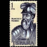 FORJADORES AMÉRICA - AÑO 1964 - Nº EDIFIL 1625 - 1931-Hoy: 2ª República - ... Juan Carlos I