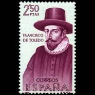 FORJADORES AMÉRICA - AÑO 1964 - Nº EDIFIL 1627 - 1931-Hoy: 2ª República - ... Juan Carlos I