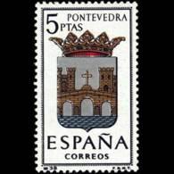 ESCUDO PROVINCIAS - AÑO 1965 - Nº EDIFIL 1632 - 1931-Hoy: 2ª República - ... Juan Carlos I