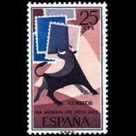 DIA MUNDIAL SELLO - AÑO 1965 - Nº EDIFIL 1667 - 1931-Hoy: 2ª República - ... Juan Carlos I