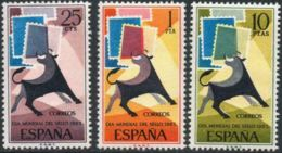 DIA MUNDIAL SELLO - AÑO 1965 - Nº EDIFIL 1667-69 - 1931-Hoy: 2ª República - ... Juan Carlos I