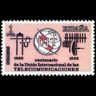CENT.TELECOMUNIC. - AÑO 1965 - Nº EDIFIL 1670 - 1931-Hoy: 2ª República - ... Juan Carlos I