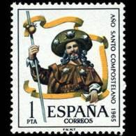 AÑO COMPOSTELANO - AÑO 1965 - Nº EDIFIL 1672 - 1931-Hoy: 2ª República - ... Juan Carlos I