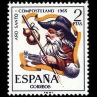 AÑO COMPOSTELANO - AÑO 1965 - Nº EDIFIL 1673 - 1931-Hoy: 2ª República - ... Juan Carlos I
