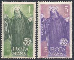 EUROPA - AÑO 1965 - Nº EDIFIL 1675-76 - 1931-Hoy: 2ª República - ... Juan Carlos I