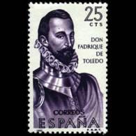 FORJADORES AMÉRICA - AÑO 1965 - Nº EDIFIL 1678 - 1931-Hoy: 2ª República - ... Juan Carlos I