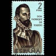 FORJADORES AMÉRICA - AÑO 1965 - Nº EDIFIL 1682 - 1931-Hoy: 2ª República - ... Juan Carlos I