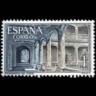 MONASTERIO YUSTE - AÑO 1965 - Nº EDIFIL 1686 - 1931-Hoy: 2ª República - ... Juan Carlos I