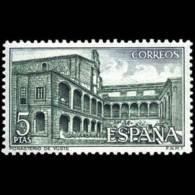 MONASTERIO YUSTE - AÑO 1965 - Nº EDIFIL 1688 - 1931-Hoy: 2ª República - ... Juan Carlos I