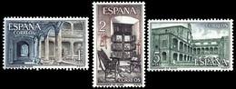 MONASTERIO YUSTE - AÑO 1965 - Nº EDIFIL 1686-88 - 1931-Hoy: 2ª República - ... Juan Carlos I