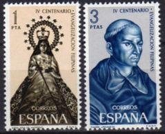 EVANG.FILIPINAS - AÑO 1965 - Nº EDIFIL 1693-94 - 1931-Hoy: 2ª República - ... Juan Carlos I