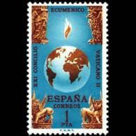 CONCILIO VATICANO - AÑO 1965 - Nº EDIFIL 1695 - 1931-Hoy: 2ª República - ... Juan Carlos I