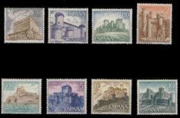 CASTILLOS ESPAÑA - AÑO 1967 - Nº EDIFIL 1809-16 - 1931-Hoy: 2ª República - ... Juan Carlos I