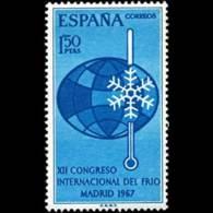 CONGRESO DEL FRIO - AÑO 1967 - Nº EDIFIL 1817 - 1931-Hoy: 2ª República - ... Juan Carlos I