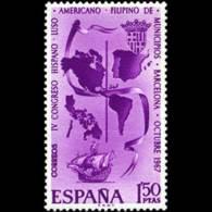 CONGR. MUNICIPIOS - AÑO 1967 - Nº EDIFIL 1818 - 1931-Hoy: 2ª República - ... Juan Carlos I