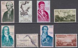 FORJADORES AMÉRICA - AÑO 1967 - Nº EDIFIL 1819-26 - 1931-Hoy: 2ª República - ... Juan Carlos I