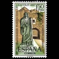 FUNDACION CACERES - AÑO 1967 - Nº EDIFIL 1827 - 1931-Hoy: 2ª República - ... Juan Carlos I