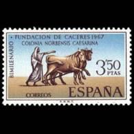 FUNDACION CACERES - AÑO 1967 - Nº EDIFIL 1828 - 1931-Hoy: 2ª República - ... Juan Carlos I