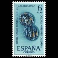 FUNDACION CACERES - AÑO 1967 - Nº EDIFIL 1829 - 1931-Hoy: 2ª República - ... Juan Carlos I