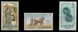 FUNDACION CACERES - AÑO 1967 - Nº EDIFIL 1827-29 - 1931-Hoy: 2ª República - ... Juan Carlos I