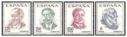 CENT.CELEBRIDADES - AÑO 1967 - Nº EDIFIL 1830-33 - 1931-Hoy: 2ª República - ... Juan Carlos I